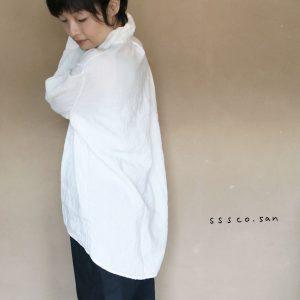 麻のシャツ-c